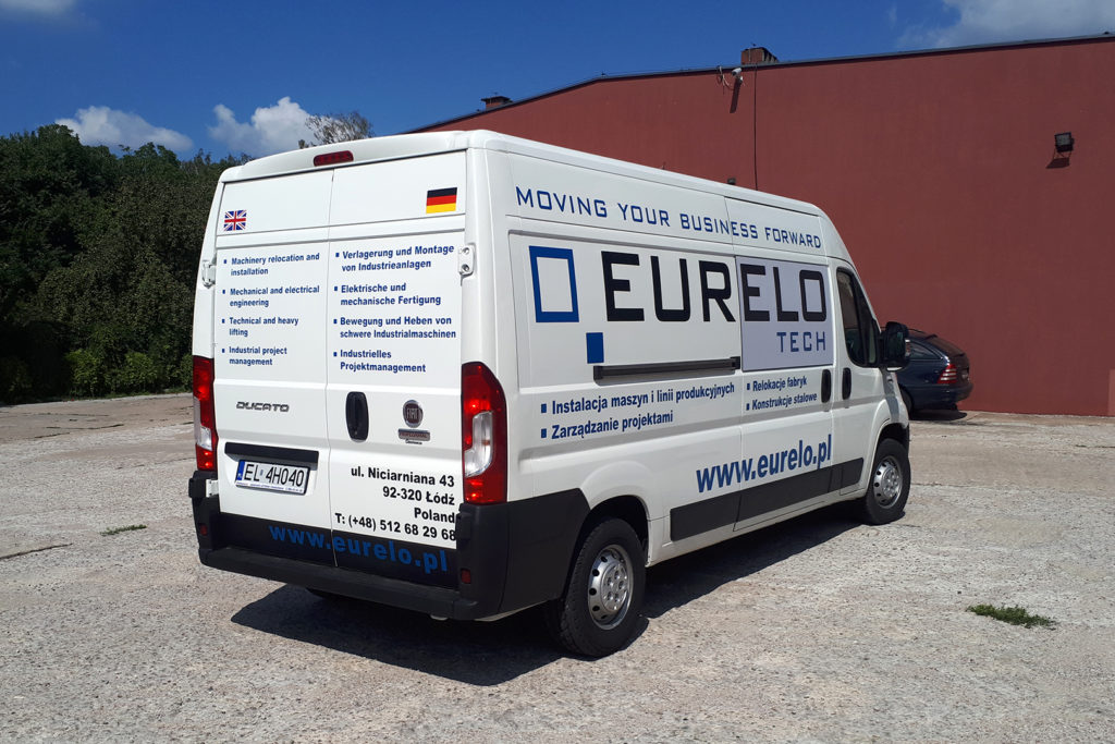 Oklejanie samochodów - Eurelo