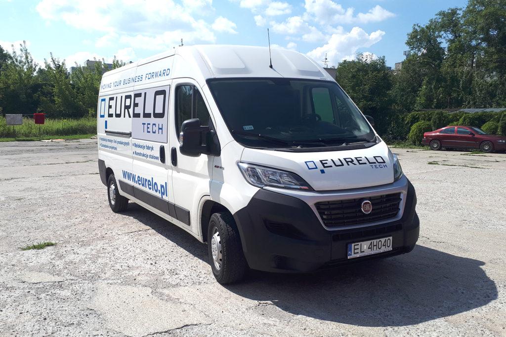 Oklejanie pojazdów - bus - Eurelo