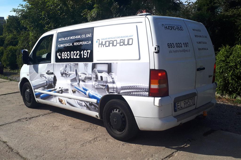 Oklejanie pojazdów - Hydro-Bud