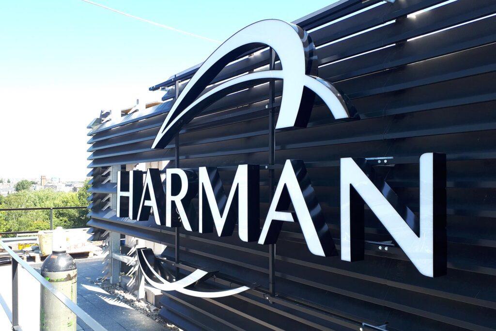 Harman litery 3d