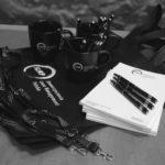 zestaw gadzetów dla firmy SLMP torby notesy dlugopisy smycze