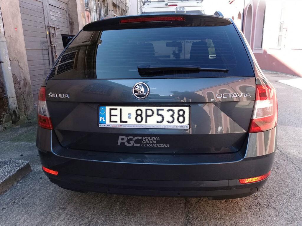 Oklejenie samochodu - PGC