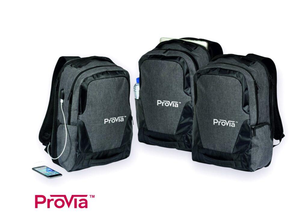 PROVIA - plecaki z nadrukiem