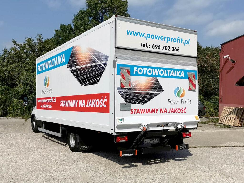 Oklejenie samochodu - Power Profit
