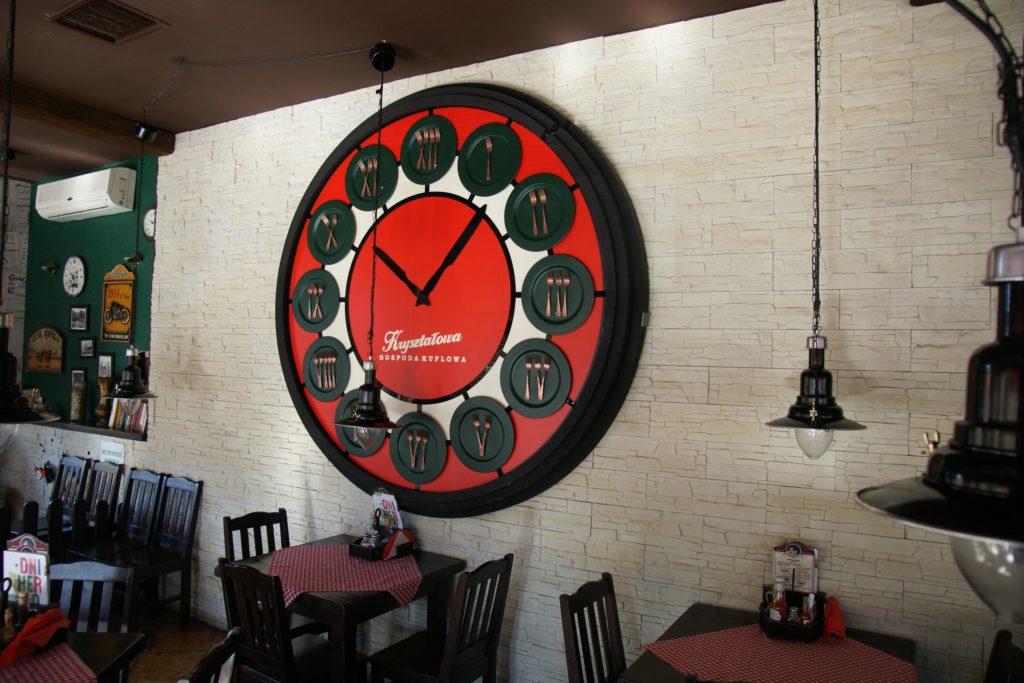 zegar kryształowa gospoda kuflowa