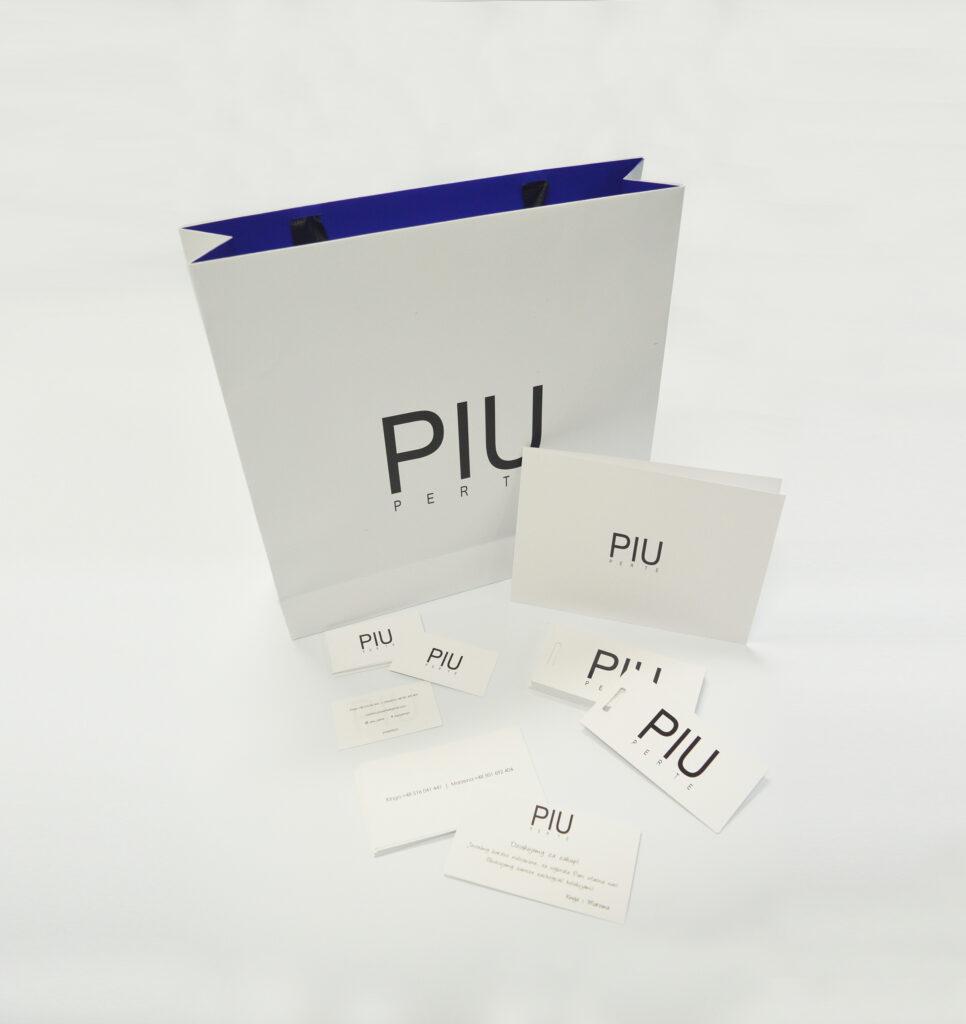 PIU PER TE - Gadżety poligraficzne