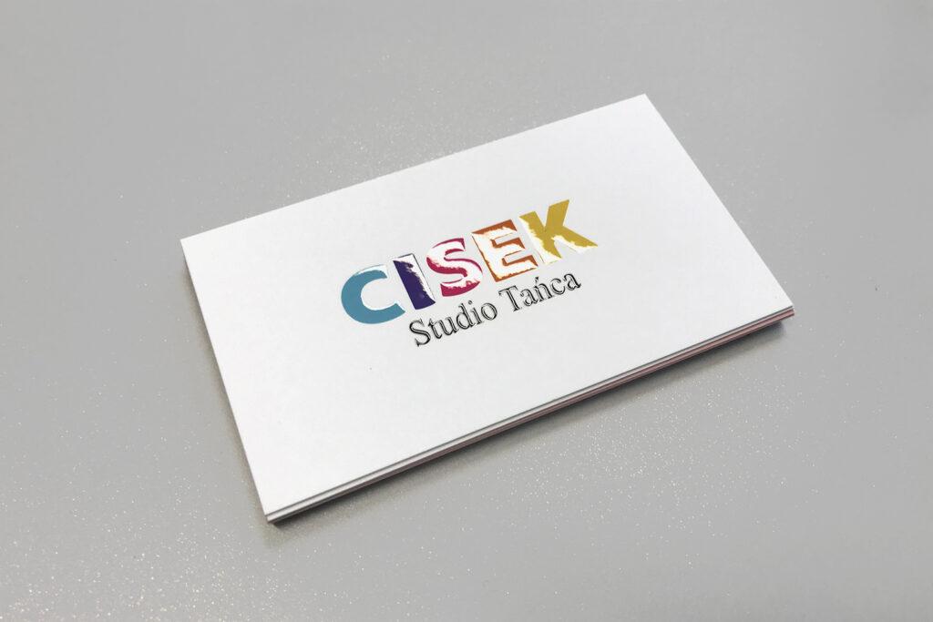 CISEK - wizytówki