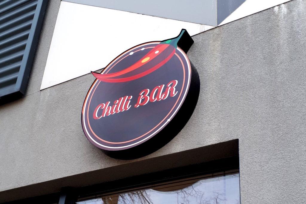 kaseton indywidyalny kształt chilli bar