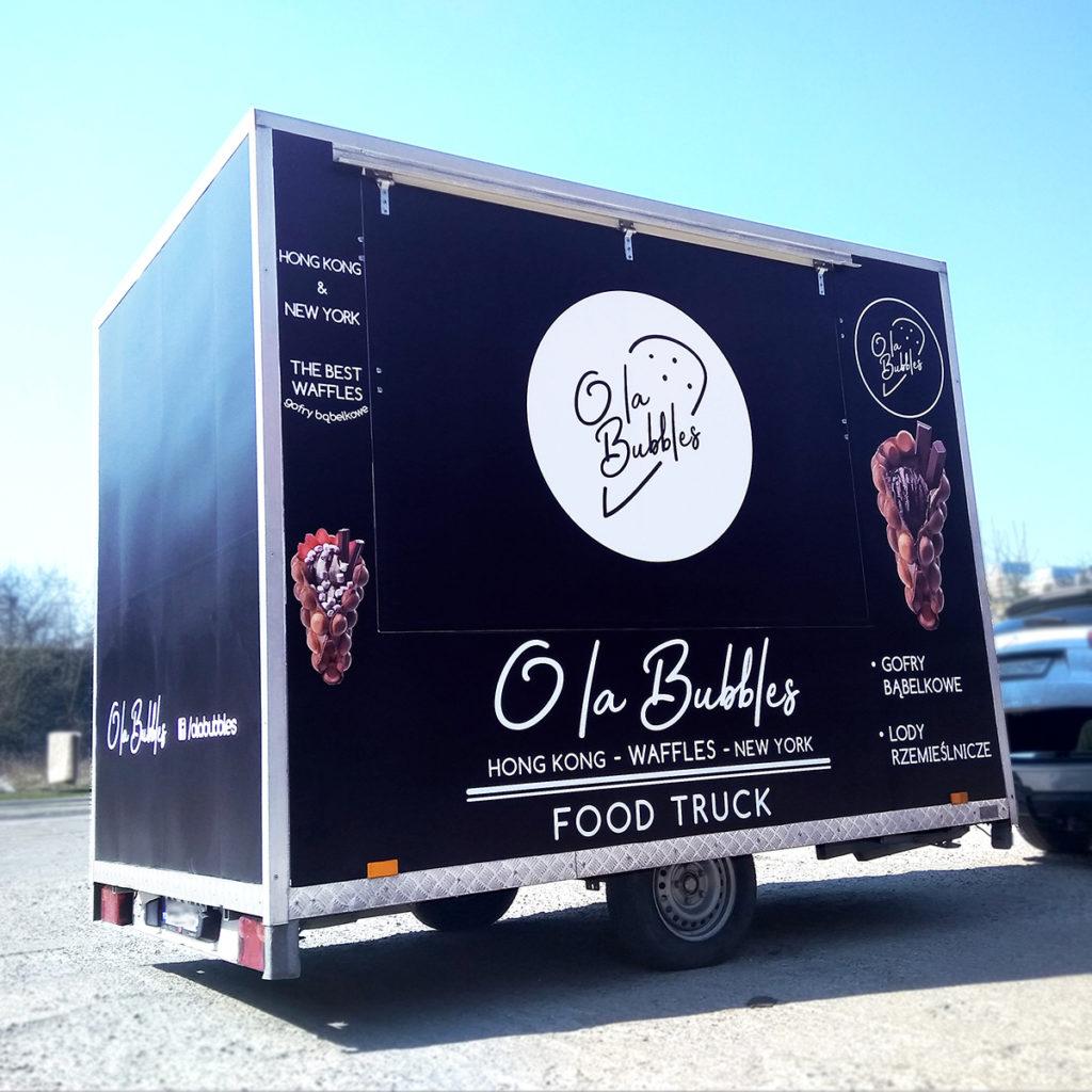Przyczepa - Food Truck O la Bubbles