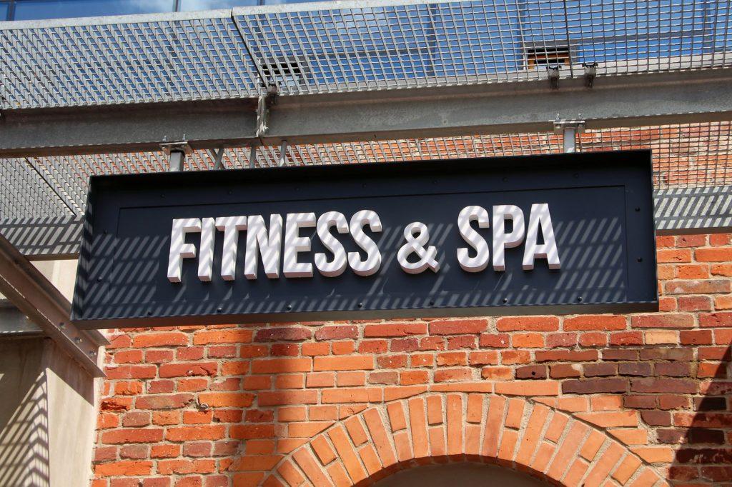 oznakowanie firm fitness spa