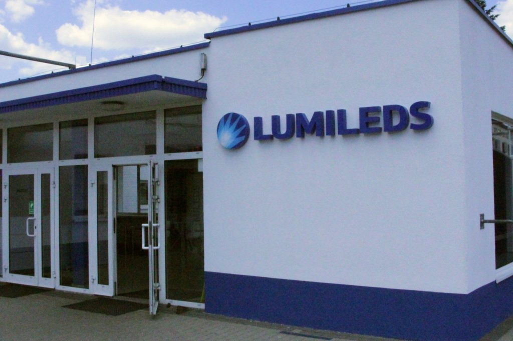 Oznakowanie firm - Lumileds