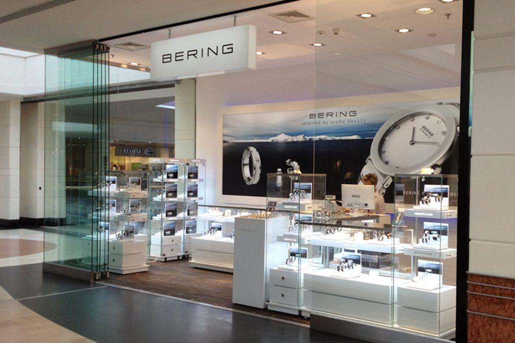 szyld reklamowy Bering