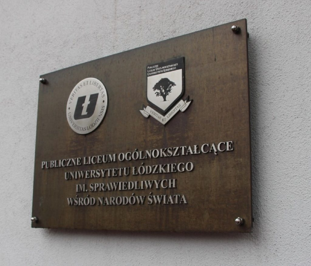 tablica mosiężna litery z nierdzewnej stali Łódź - www.partner-reklama.pl