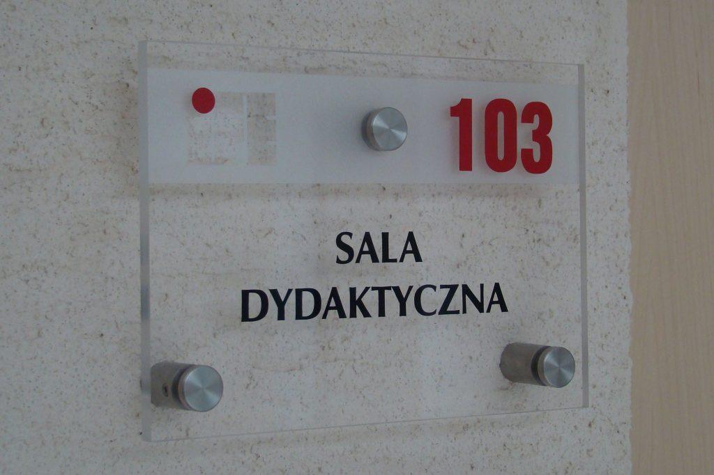 Tabliczka informacyjna