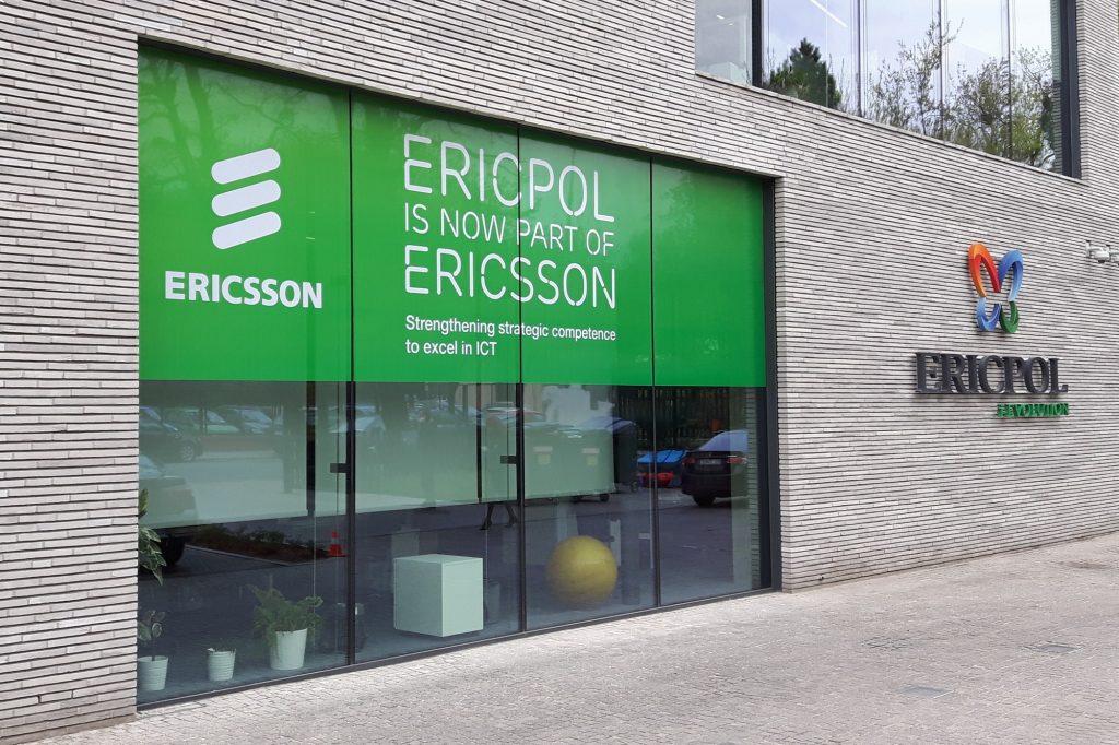 Oklejanie witryn - Ericpol
