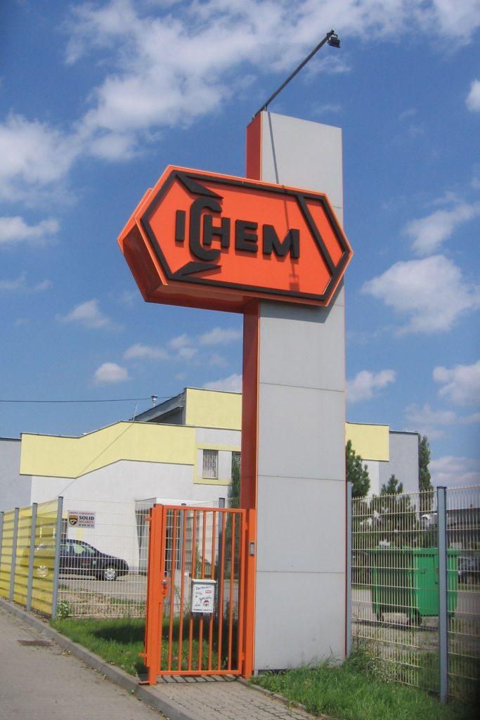 Totem reklamowy ICHEM