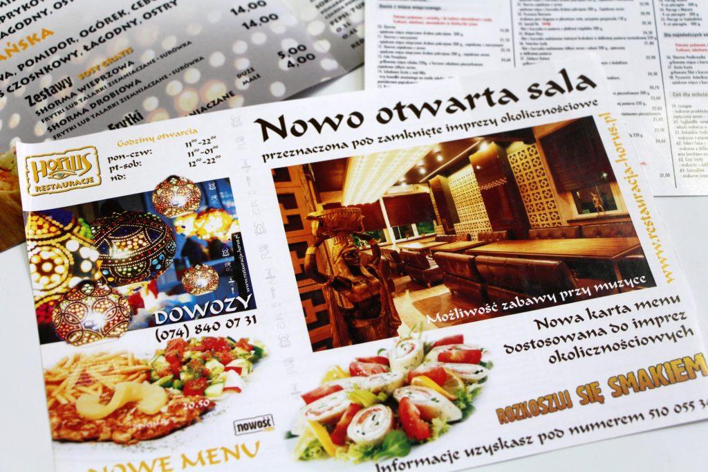 ulotka _menu - partner-reklama.pl