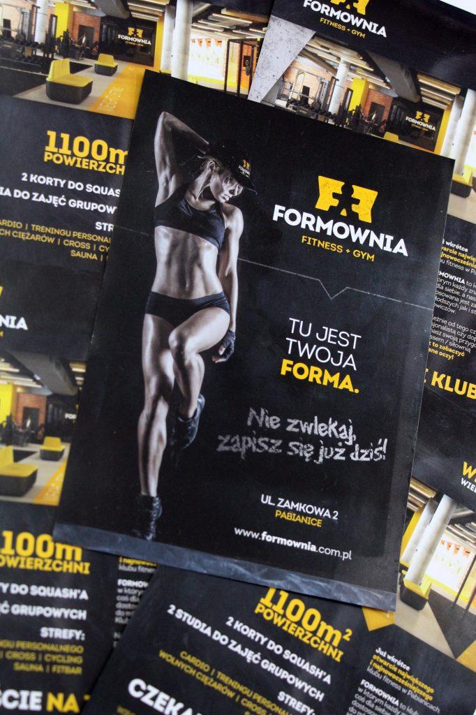 ulotka_silownia - partner-reklama.pl