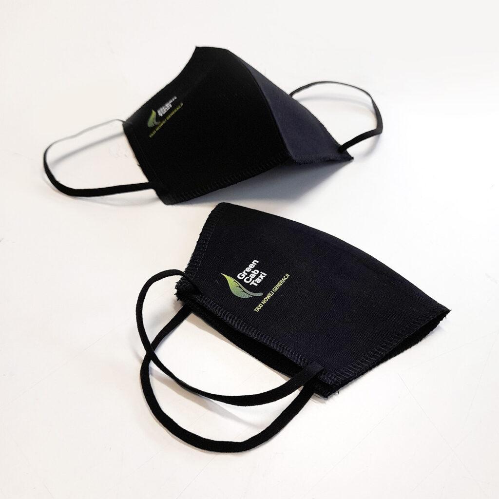 GREEN CAB - Maseczki ochronne z nadrukiem